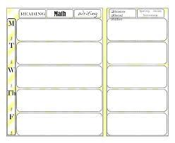 Teacher Weekly Planners Free Printable Weekly Teacher Planner Download Them Or Print