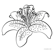 Coloring Pages Simple Flower Easy Print Coloring Picture Of A Rose
