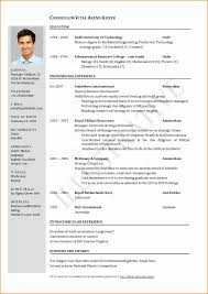 1 Page Resume Format For Freshers Unique E Page Resume Template