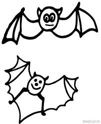 Small Picture Cute Bat Coloring pages
