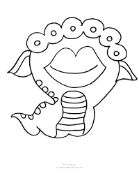 Printable Monster Coloring Pages Printable Monster Coloring Pages