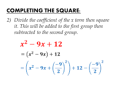 igcse mathematics examination cambridge completing the square equations transform