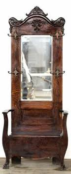 antique foyer furniture. wonderful furniture antique hall tree with bench and mirror  google search for antique foyer furniture n