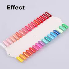 48 Tips Display Polish Color Chart Acrylic Tips Nail Polish