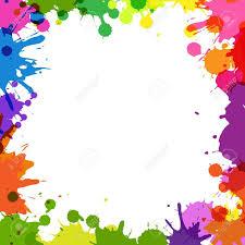 colorful paint splatter border. Colorful Paint Splatter Border Google On