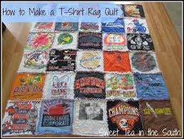 "How to Make a T-shirt Rag Quilt (the non-quilter's quilt) - Sweet ... & Please keep in mind that I am by no means a sewing expert (and that's why I  also did not make a ""real"" quilt). Adamdwight.com"