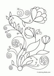 Spring Flowers Super Coloring Pillowcases Pinterest Flowers Coloring