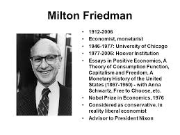 milton friedman essays in positive economics