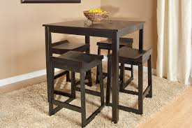 dining room round counter height table with leaf square