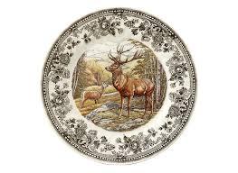 <b>Тарелка суповая Churchill 20</b> см Quintessential Game Stag