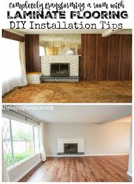 completely transforming a room with laminate flooring diy installation tips at thehappyhousie com