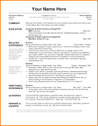 5 Resume Layout Samples Forklift Resume