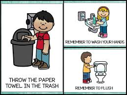 elementary school bathroom clipart. Exellent Clipart Clipart Bathroom Rule For Elementary School Bathroom Clipart T