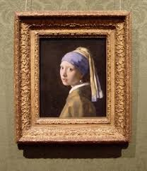 vermeer s paintings in their frames girl a pearl earring girl a pearl earring joihannes vermeer