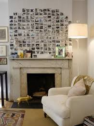 best fireplace decorations wedding