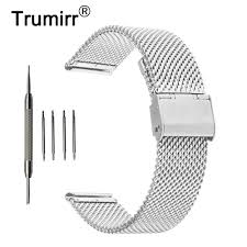 <b>18mm 20mm 22mm Milanese</b> Watch Band for Tissot T035 PRC200 ...