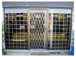 Steel Fixed Window Security Bars