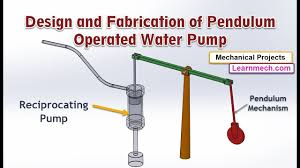 Bicycle Water Pump Design Pendulum Operated Water Pump Mechanical Project