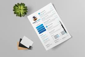 Best Modern Clean Resume Design Clean Modern Resume Design 002729 Template Catalog