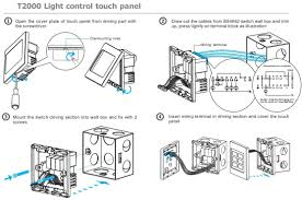 touch switch wiring diagram for lamps t2000 wiring diagram