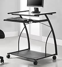 coaster contemporary computer workstation office desk table. Ameriwood Home Sheldon Mobile Computer Desk, Black Coaster Contemporary Workstation Office Desk Table S