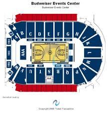Milwaukee Admirals Seating Chart Budweiser Events Center Tickets And Budweiser Events Center