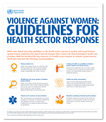 gender violence the health impact sexual violence in conflict  source who int reproductivehealth publications violence vaw who guidelines jpeg ua 1