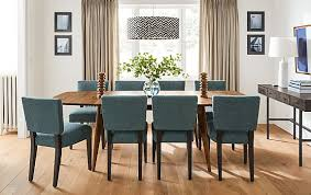 ventura extension table in walnut modern dining room furniture within and board remodel 4