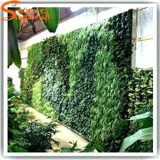 faux grass squares turf fake artificial smaller area with rock border great idea home decor wall