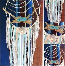 Beach Dream Catchers Beach House Dream Catcher Ocean Sea Shell Gift Surf Seahorse 20