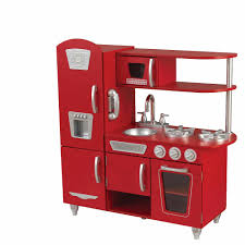 Kid Craft Retro Kitchen Kidkraft Vintage Kitchen Set Red Toysrus