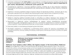 Manufacturing Engineer Resume Sample Ideas Collection Manufacturing