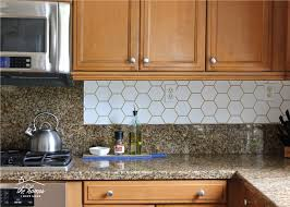 adding pattern to your kitchen backsplash doesn t have to require tile this tutorial