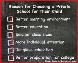 reasons parents choose private schools education news  assessment results are not even among the top ten reasons why families choose private schools