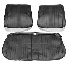 1970 chevelle malibu ss396 supersport front bench seat covers black pui 70as10b