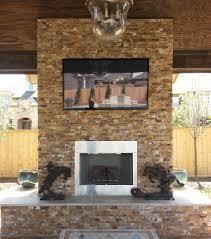 stone veneer panel fireplace ideas brick masonry siding exterior stone veneer over brick fireplace