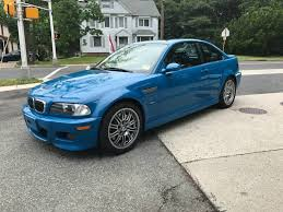Coupe Series 2002 bmw for sale : 2002 BMW M3 in Laguna Seca Blue