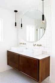 bathroom pendant lighting fixtures. vanities storage pendant light for bathroom circle mirrored white furniture brick patterns lighting fixtures 4