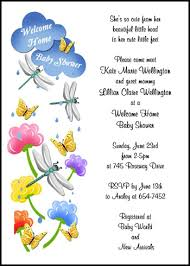 welcome party invitation wording welcome home baby shower invitation wording invitation ideas