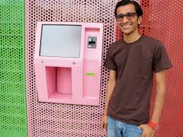Cupcake Vending Machine Chicago Magnificent Sprinkles Cupcake ATM See How It Works VIDEO HuffPost