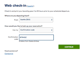 How To Use Alaskaair Com Online Check In Alaska Airlines
