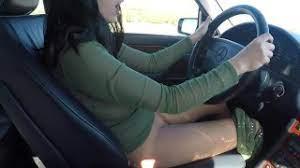 Car Masturbation While Driving