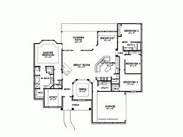 images about House plan on Pinterest   Floor Plans  House     sq ft one level bedroom house plans   House Plan   Four Bedroom New
