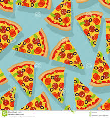 repeating pizza background. Perfect Background Pizza Seamless Pattern Delicious Slice Of Pizza Background And Repeating Background M