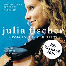 Khachaturian / <b>Prokofiev</b> / Glazunov - Russian <b>Violin Concertos</b>