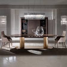 contemporary italian large oval marble dining table and chairs set