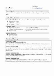 How To Format An Email To A Teacher Awesome Good Resume Format For