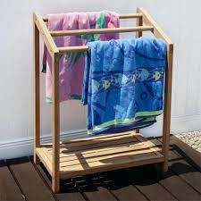poolside towel rack outdoor plans or tree