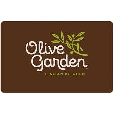 Business Gift Cards With Logo Olive Garden 25 Gift Card