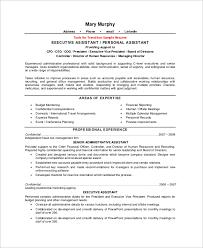 Gallery Of Executive Assistant Job Description Resume Sample